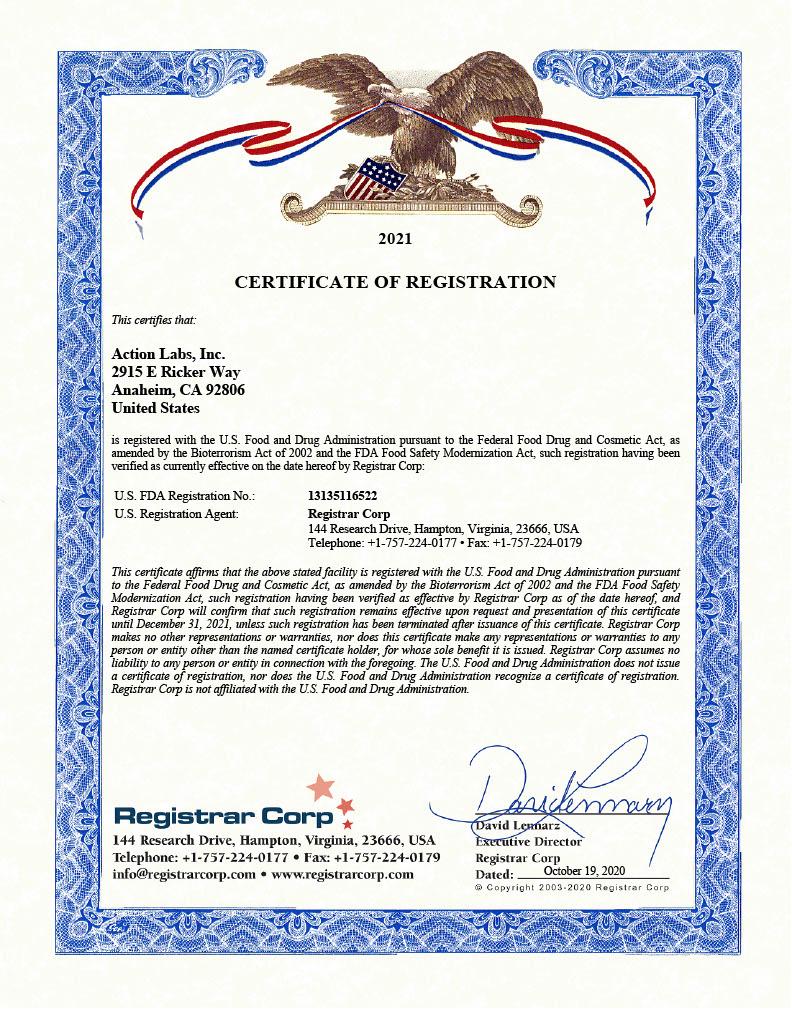 2021 FDA registration cert10241024_1